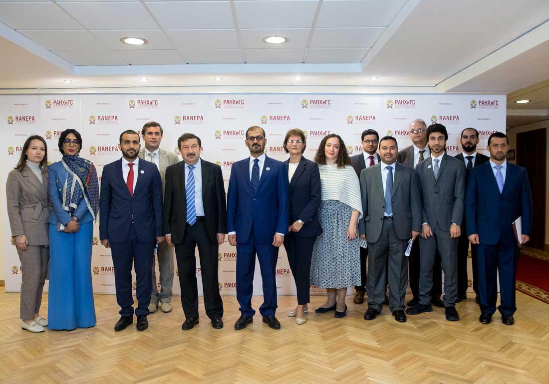 28 августа ректор РАНХиГС Владимир Мау встретился с делегацией Министерства образования ОАЭ во главе с руководителем ведомства, Его Превосходительством Хуссейном бин Ибрагимом аль Хаммади.
