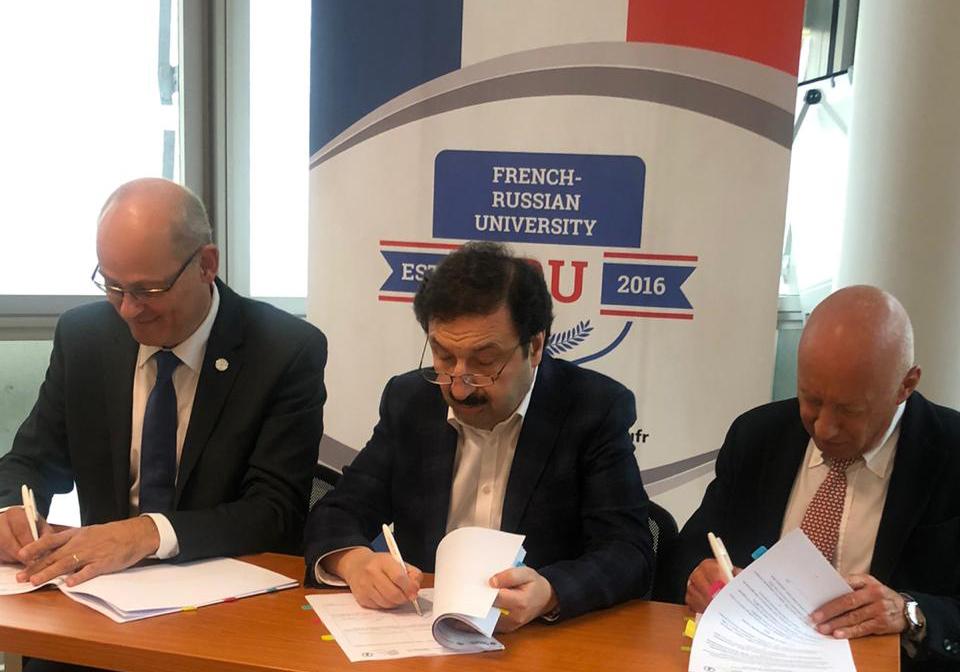 Владимир Мау выступил на конференции по сотрудничеству в области образования во Франции