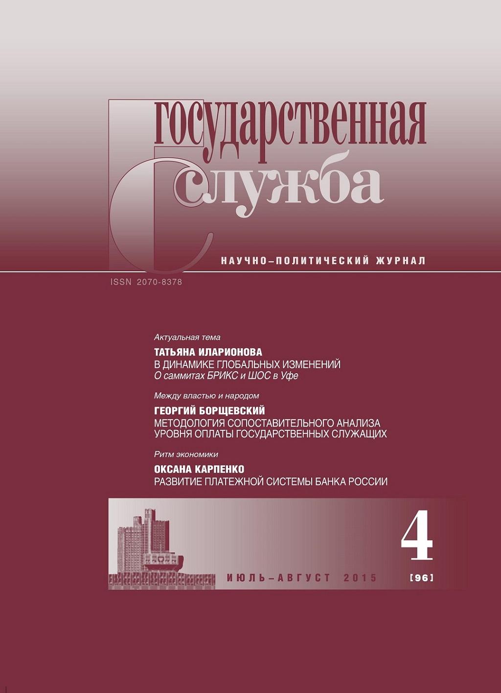 политический научный журнал