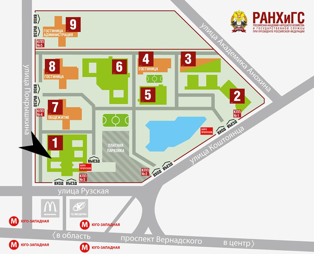 Отсрочка от армии в академии РАНХиГС map rus kpp vus