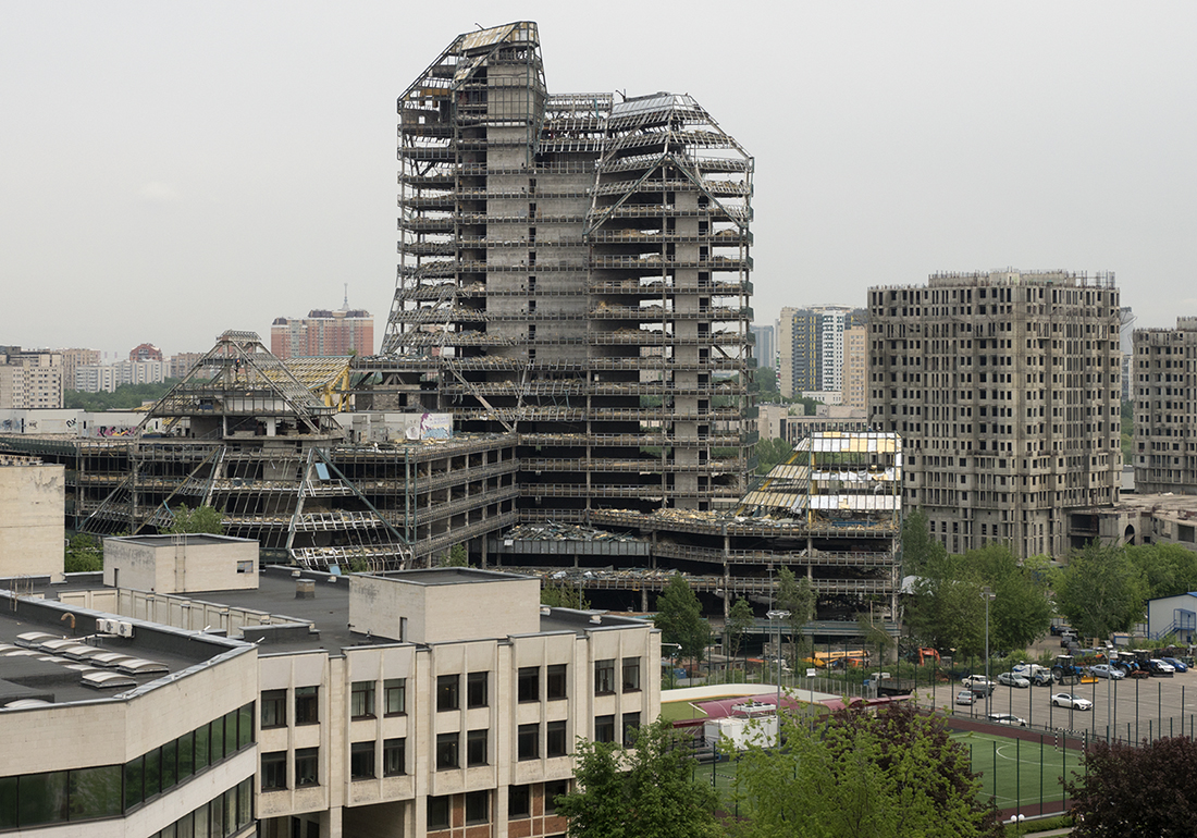 Реконструкция «Зенита»: завершен демонтаж фасада