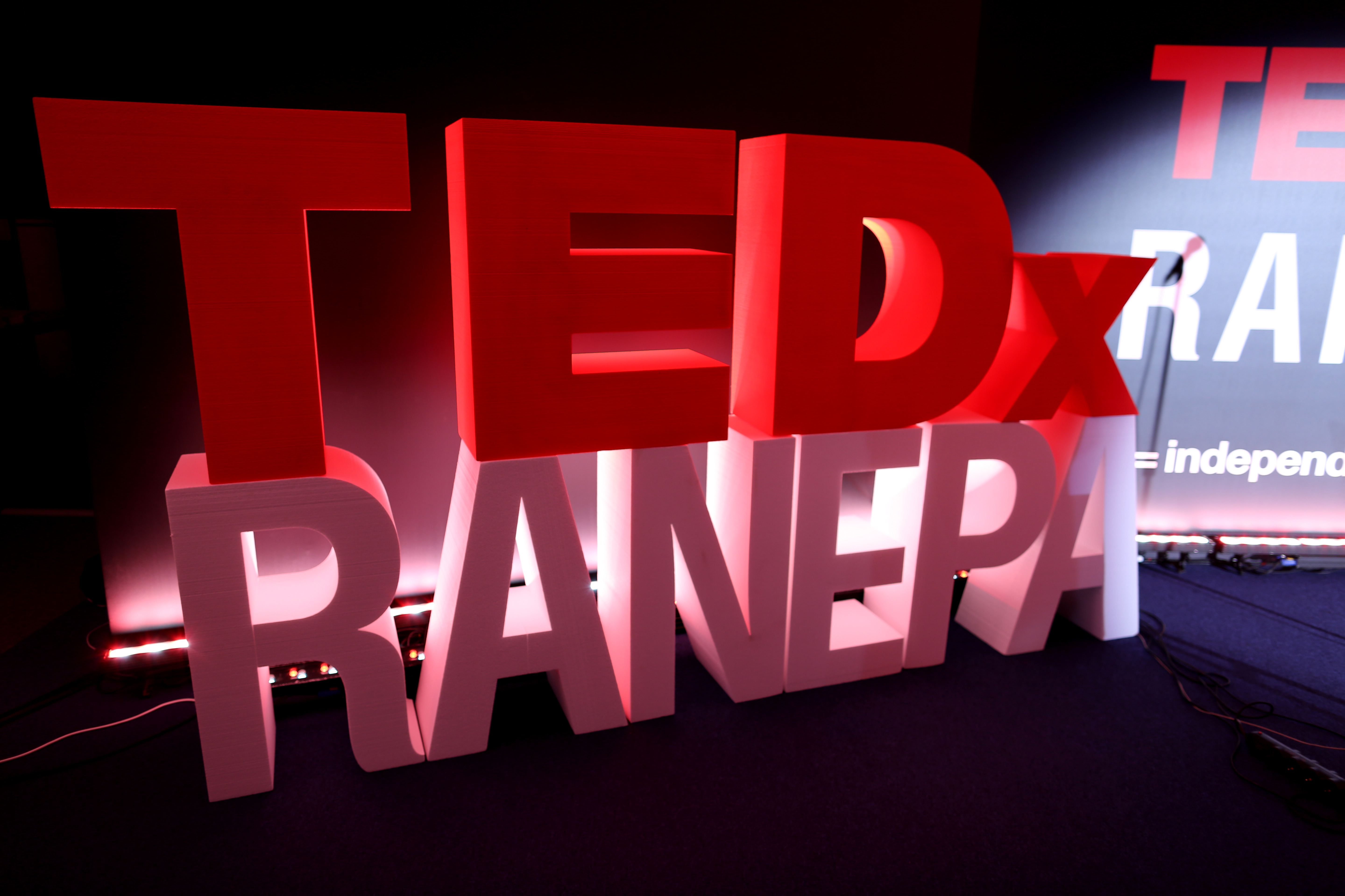 Second TEDxRANEPA conference: ideas worth spreading. 2019