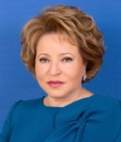 Matvienko Valentina: 2011 – present, Chairwoman of the Federal Council;  2003–2011, Governor of St. Petersburg